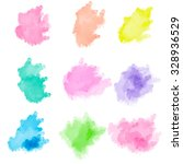 abstract watercolor painting. | Shutterstock . vector #328936529