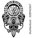 tattoo design | Shutterstock .eps vector #328942367