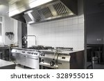 modern industrial kitchen | Shutterstock . vector #328955015