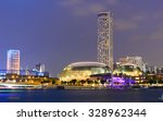 singapore   oct 10  2015. night ... | Shutterstock . vector #328962344