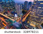 bangkok business center at... | Shutterstock . vector #328978211