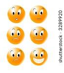 smile | Shutterstock . vector #3289920