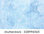 Texture Of Ice Of Baikal Lake...