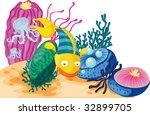 coral reef  vector image... | Shutterstock . vector #32899705