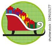 slide in light green button on...   Shutterstock .eps vector #329015177