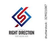 Right Direction Icon Logo...