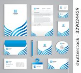 corporate identity branding... | Shutterstock .eps vector #329024429