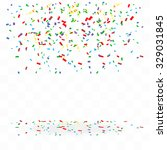 abstract background with many... | Shutterstock .eps vector #329031845