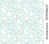 seamless patterns of male...   Shutterstock .eps vector #329038619