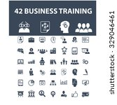 training development  business... | Shutterstock .eps vector #329046461