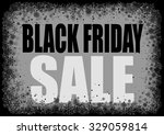 black friday background with... | Shutterstock .eps vector #329059814