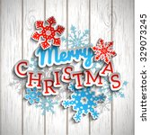 Colorful Decorative Text Merry...