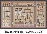tool cabinet | Shutterstock .eps vector #329079725
