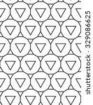 vector modern seamless geometry ... | Shutterstock .eps vector #329086625