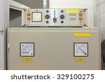 electric power control unit in... | Shutterstock . vector #329100275