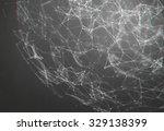 abstract sphere background | Shutterstock . vector #329138399