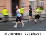 blurred  defocused  image of... | Shutterstock . vector #329156099
