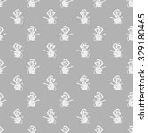 seamless pattern with the... | Shutterstock .eps vector #329180465