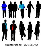 business people | Shutterstock .eps vector #32918092