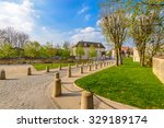 picturesque small town street... | Shutterstock . vector #329189174