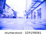 blurred image of shopping mall... | Shutterstock . vector #329198081