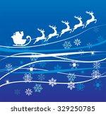 vector illustration of santa...   Shutterstock .eps vector #329250785