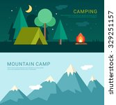 camping and mountain camp....