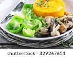 Fried Wild Mushrooms With...