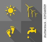 vector flat icons   ecology