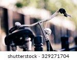 Vintage City Bike Colorful...
