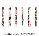 team over white together we... | Shutterstock . vector #329291837