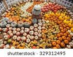 Lots Of Colorful Pumpkins....