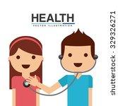 healthcare concept design ... | Shutterstock .eps vector #329326271