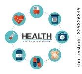 healthcare concept design ...   Shutterstock .eps vector #329326349