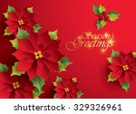 season   s greetings. vector... | Shutterstock .eps vector #329326961