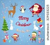 Santa Clause Christmas Elf...