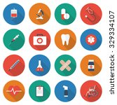 medical icons. medical... | Shutterstock .eps vector #329334107