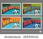 united states vintage...   Shutterstock .eps vector #329343131
