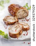 Chicken Meat Roulade Stuffed...