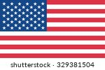 united states america flag... | Shutterstock .eps vector #329381504
