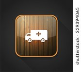 ambulance car  icon | Shutterstock .eps vector #329394065