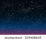 vector background. starry night ... | Shutterstock .eps vector #329408645