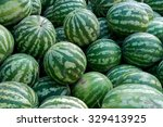 Watermelons On The Market....