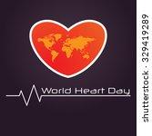 world heart day | Shutterstock .eps vector #329419289