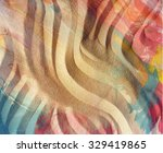 colored sand texture. | Shutterstock . vector #329419865