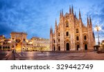 Milan Cathedral, Duomo di Milano, one of the largest churches in the world