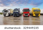 parking trucks | Shutterstock . vector #329449235