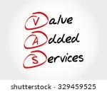 vas   value added services ...   Shutterstock .eps vector #329459525