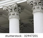 pillars on an old building | Shutterstock . vector #32947201