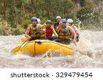 Raft Water River Ecuador Boat...